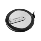 Panasonic VL2020-1HF Rechargeable Coin Cell with Solder Pins