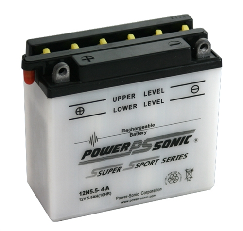 Power-Sonic 12N5.5-4A 12-Volts 60-CCA
