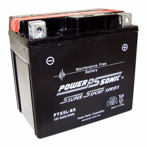 Power-Sonic PTX5L-BS 12-Volts 55-CCA