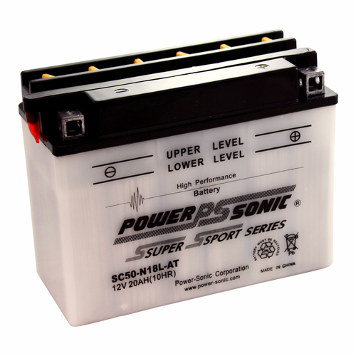 Power-Sonic SC50-N18L-AT 12-Volts 220-CCA