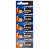 Renata CR1025TS 5-Pack, CR1025 Lithium Coin Cell Batteries