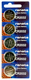 Renata CR2032TS 5-Pack, CR-2032 Lithium Coin Cell Batteries