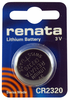 Renata CR2320CU 10-Pack, CR-2320 Lithium Coin Cell Batteries