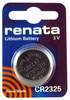 Renata CR2325CU 10-Pack, CR2325 Lithium Coin Cell Batteries