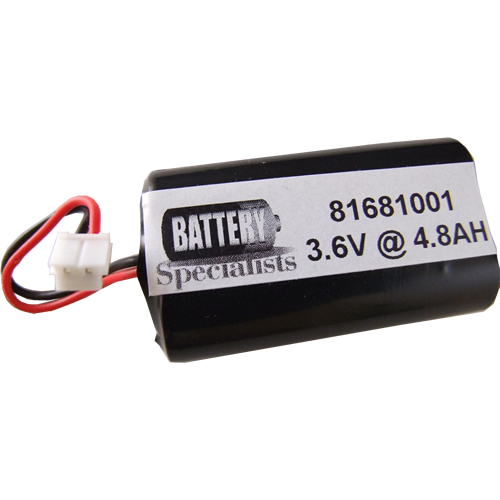 Battery Specialists 81681001, 3.6V @ 4.8AH , 2/LS14500-rD Sensor Operated Flush Valve