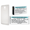 SAMSUNG EB-BN910BBU, EXT VERSION Ext Cell Phone Battery w/Door For GALAXY NOTE 4 (IV)