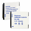 SAMSUNG SLB-07A replacement battery Empire BLI-366