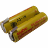 Battery Specialists 2/N700AAC-RZR, 2.4V 700mAh Electric Shaver / Razor