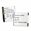 SONY NP-BN1 replacement battery Empire BLI-379