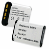 SONY NP-BX1 replacement battery Empire BLI-431