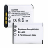 SONY NP-BY1 TYPE Y replacement battery Empire BLI-455