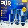 PUR MineralClear Faucet 3 Stage Refill Filters 6 Pack RF-9999