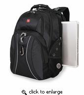 "SwissGear Scan Smart 17"" Laptop Backpack"