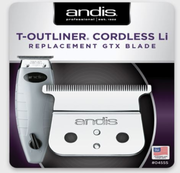 Andis 04555 Cordless T-Outliner Li Replacement Deep Tooth GTX Blade