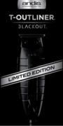 Andis 05110 T-Outliner Blackout Limited Edition Trimmer