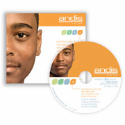 Andis 12650 Cutting and Styling Textured Hair DVD