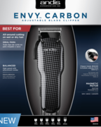 Andis 66510 Envy Carbon Clippers