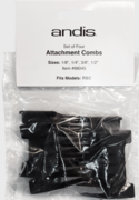Andis 68045 Set of 4 attachment combs for Supra 120