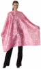 "Andre  Pink Strong Hairstyling cape 44""x 58"""