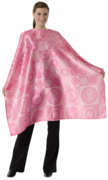 """Andre  Pink Strong Hairstyling cape 44""""x 58"""""""