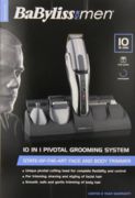 BaByliss Pro BP101P for Men 10-in-1 Pivotal Grooming System