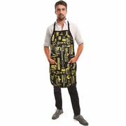 Betty Dain 172-G Vintage Gold Barber Apron