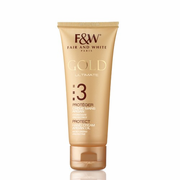 Fair and White 3: Protect Gold Hand Cream with Argan Oil 75ml (Hydroquinone FREE!!!)