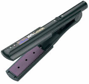 """Hot Tools 1-1/4"""" Ion Ceramic Flat Iron with Gentle Far-Infrared Heat"""
