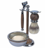 Kingsley sb653 shave set - Faux Wood-Discontinued-*All Sales Final*(No Returns/Exchange)