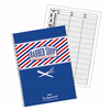 Scalpmaster 3 Column Barber Appointment Book