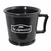 Scalpmaster Professional Rubberized Shaving Mug