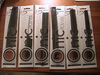 Spornette  Ionic Comb Set of 5