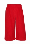 Anavini Baby / Toddler Boys Pull On Pants - Red Corduroy