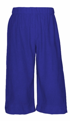 Anavini Baby / Toddler Boys Pull On Pants - Royal Blue Corduroy