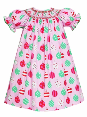 Anavini Velani Baby Toddler Girls Holiday Dress Pink