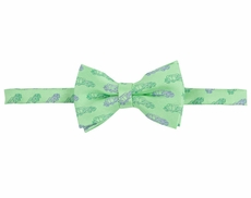 Andy & Evan Boys Cars Print Bow Tie - Green
