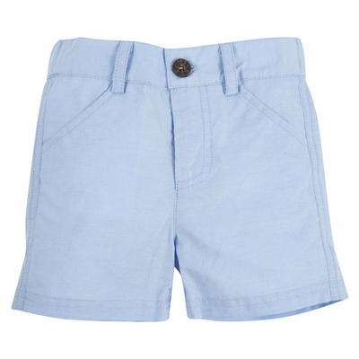 Andy & Evan Boys' Light Blue Oxford Shorts
