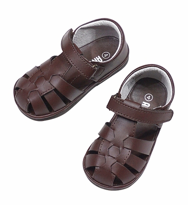 Angel by L'Amour Baby / Toddler Boys / Girls Fisherman Sandals - Brown