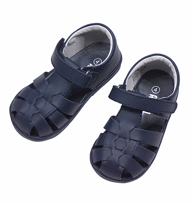 Angel by L'Amour Baby / Toddler Boys / Girls Fisherman Sandals - Navy Blue