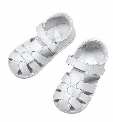 Angel by L Amour Baby   Toddler Boys   Girls Fisherman Sandals - White