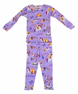 Books to Bed Girls Lavender Purple Uni the Unicorn Pajamas