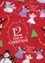 Books to Bed Pajamas with or without Good Night Story Books - Red Twelve Days of Christmas - Girl