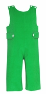 Claire & Charlie Baby / Toddler Boys Green Corduroy Christmas Longall