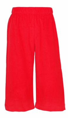 Claire & Charlie Baby / Toddler Boys Pull On Pants - Red Corduroy