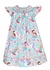 Claire & Charlie Baby / Toddler Girls Turquoise / Pink Princess Print Smocked Dress