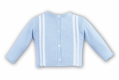 Dani by Sarah Louise Infant / Toddler Girls Cardigan Sweater - Blue