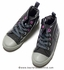 Deux Par Deux Girls Mon Dada C'est Toi High Top Shoes - Grey