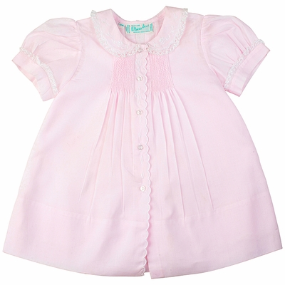 Feltman Brothers 6259 Infant Girls Pink Dress with Slip