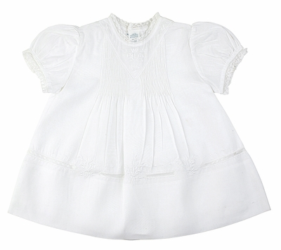 Feltman Brothers 6363 Baby Girls White Dress with Slip