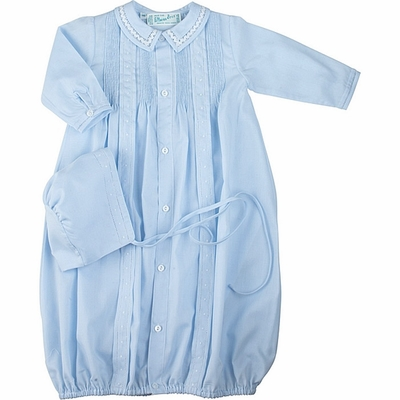 Feltman Brothers Infant Baby Boys Take Me Home Gown With